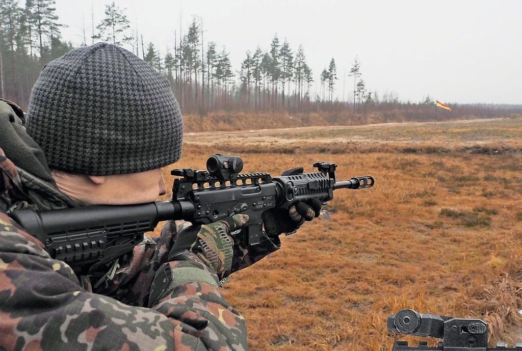 Самозарядный карабин КСО-9 калибра 9х19