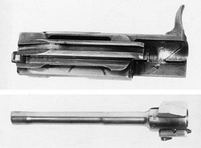 Конструкция затвора изатворной рамы ССВ-58 уже приобрели знакомые всем очертания