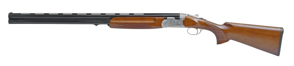 Охотничье ружьё схудожественным оформлением, модель EngravedI, наряду сосвоими чисто утилитарными функциями, близка также икпредмету прикладного оружейного исскуства. Простите, чем не«Беретта»?