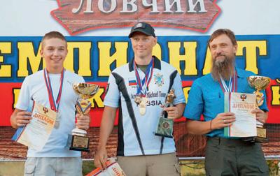 Александр Лунин, Виктор Бояркин, Сергей Рудов