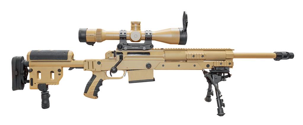 Бундесвер принял навооружение новую снайперскую винтовку под наименованием G29 (Heinel RS9) калибра.338LM. Вэтом семействе представлены также винтовки RS8калибров .308Win. (втом числе синтегрированным глушителем) и.300WM