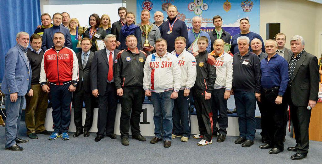 Победители, участники и организаторы турнира Совета Федерации ФС РФ