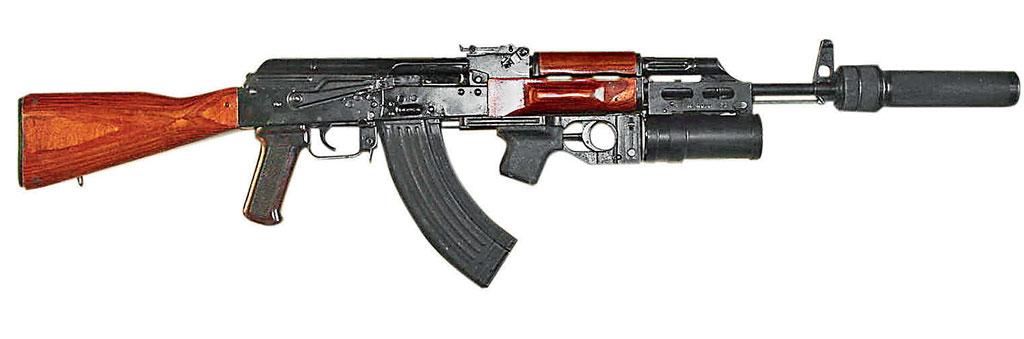 Автомат АКМ сприбором ПБС-1