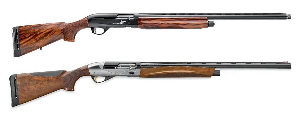 Новые ружья компании Benelli: вверху модель Colombo вкалибре 12/76; внизу— Ethos вкалибре 20/76
