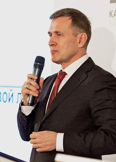 Президент Континентальной стрелковой лиги Илья Губин