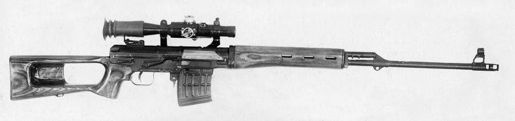 Снайперская винтовка ССВ-58 от повторных полигонных испытаний