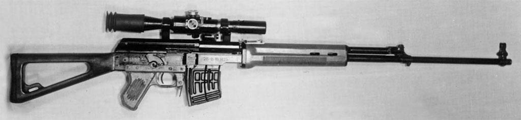 Последний вариант снайперской винтовки 2Б-В-10 конструкции Константинова