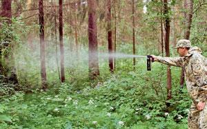 Распылитель «Anti-Зверь» объёмом 650 мл обладает мощным и интенсивным выбросом действующих веществ