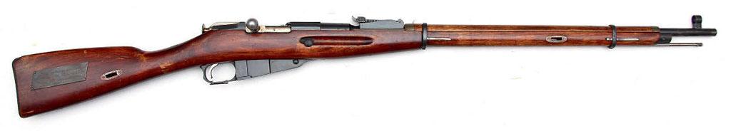 7,62-мм винтовка обр. 1891/30 гг, журнал Калашников
