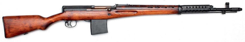 7,62-мм самозарядная автоматическая винтовка Токарева АВТ-40