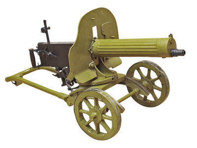 7,62-мм станковый пулемёт Максима, журнал Калашников