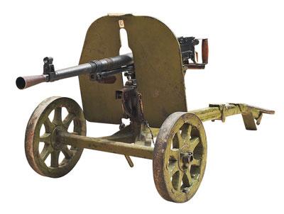7,62-мм станковый пулемёт СГ-43 конструкции Горюнова