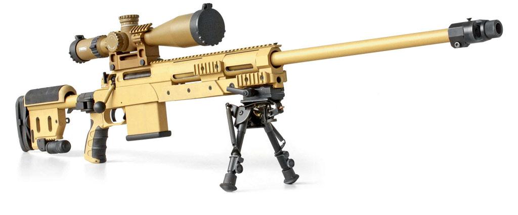 Снайперская винтовка G29— первый образец стрелкового оружия для бундесвера, разработанный ивыпускающийся вЗуле. Фото: Haenel.
