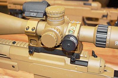 Оптика наG29 устанавливается при помощи алюминиевого кронштейна Era Tac-Montage фирмы Recknagel (вданном случае суровнем иколлиматором). Фото автора