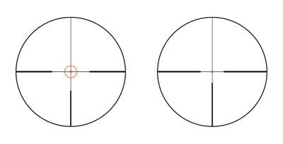 Два своих новых оптических прицела, модели Z8i 1-8×24 и1,7-13,3×42Р Swarovski оборудовала сменяемой одним нажатием кнопки прицельной маркой (технология Flexchange)