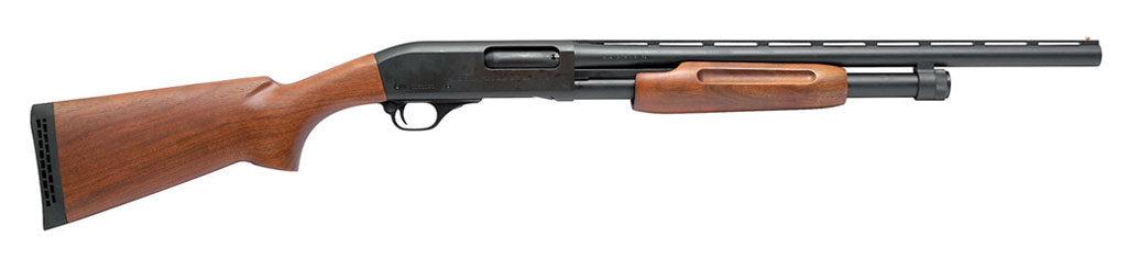 Помповое ружьё Hawk PF28WB. Длина ствола 560 мм, вместимость магазина 5 патронов (+1)