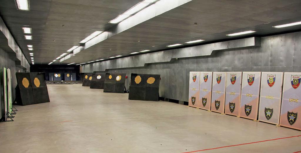 50-метровая галерея в Академии практической стрельбы (Москва)