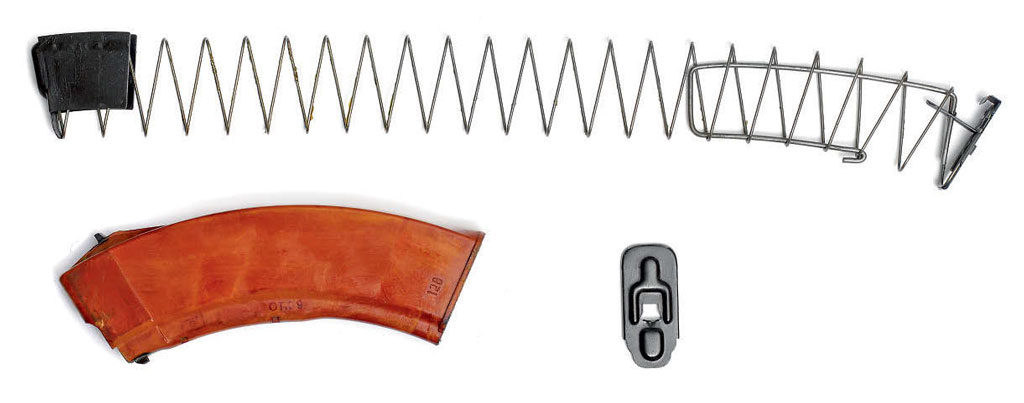Поскольку Законом РФ «Об оружии» вместимость магазина гражданского образца ограничена 10 патронами в конструкцию магазина ВПО-209, введён ограничитель