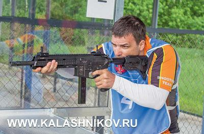 Евгений Потапенко и его любимый карабин V-AR