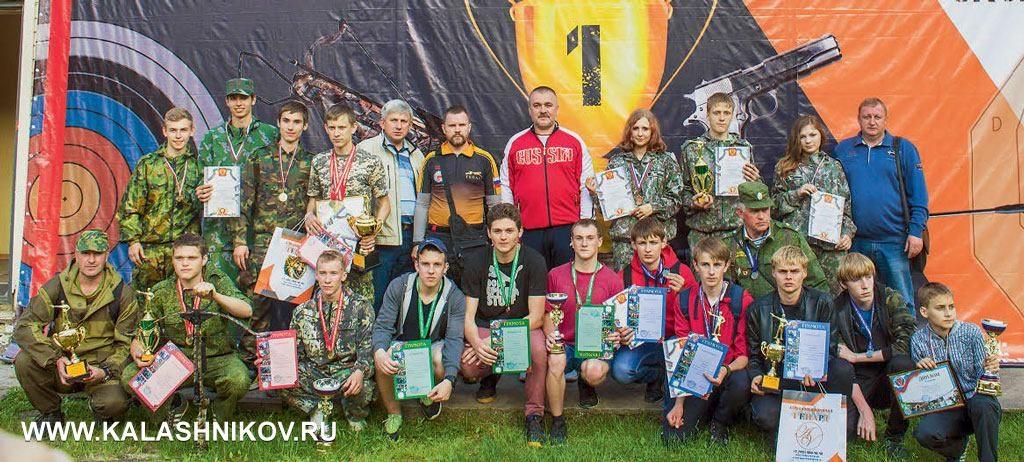Победители среди молодых многоборцев и практиков