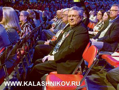 Статс-секретарь, заместитель председателя Банка России А.П. Торшин насъезде NRA