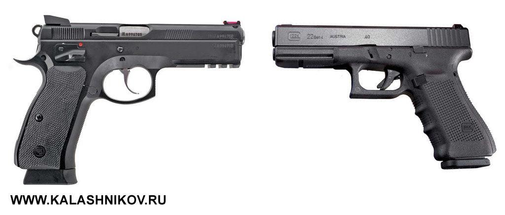 Пистолеты Glock и CZ пользуются большой популярностью в стрелковых клубах России