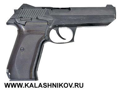 Пистолет «Грач-1» конструкции А.И. Зарочинцева, опытный образец 1992г.