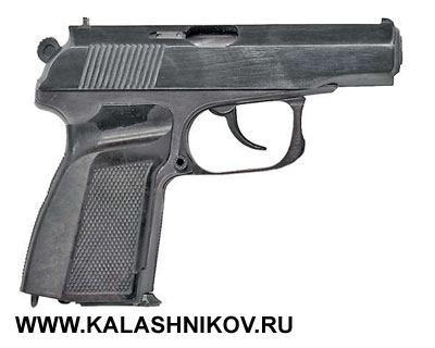 9-мм пистолет «Грач-3» конструкции Б.М.Плецкого иР.Г.Шигапова, опытный образец 1992г.