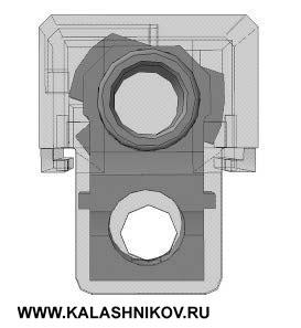 Схема из патента на «Запирающий узел стрелкового оружия», полученного автором статьи