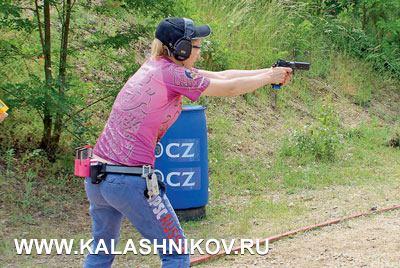 Татьяна Макарова во время Super Six