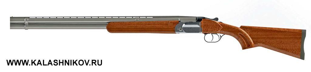 Общий вид ружья с перспективной системой запирания в 20-м калибре