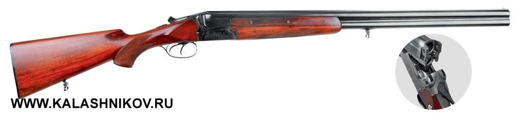 Охотничье ружьё Merkel 200E— типичный представитель немецкой школы, вкотором применяется запирание Керстена