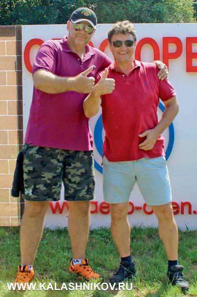 Генеральный супервайзер Лиги Любор Новак иматч-директор Geco Open Золтан Винце, который будет готовить чемпионат Европы попрактической стрельбе изпистолета
