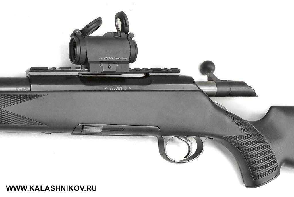 Aimpoint Micro T-2, Rossler Titan 3, журнал Калашников