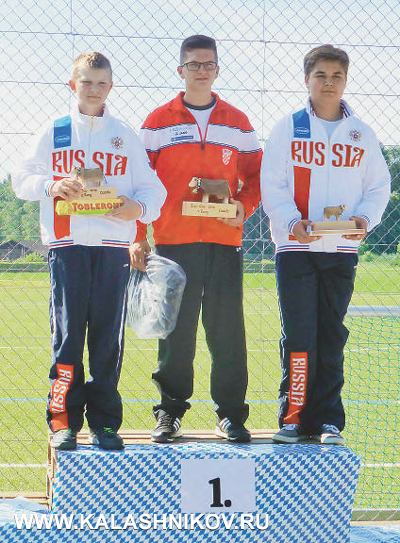 Серебряный призер кубка Швейцарии Семен Шабурин и бронзовый призер Михаил Мирзоев