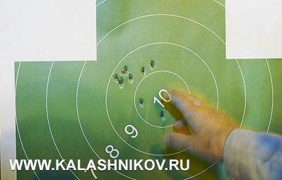 Китайский «чезет» прямо изкоробки стреляет практически поместу— прицеливание производилось под «девятку»