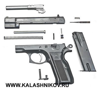 Частичная разборка пистолета NORINCO NZ85B