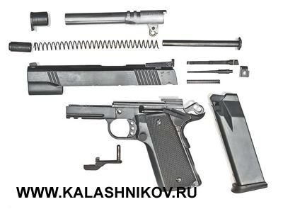 Частичная разборка пистолета NORINCO NP 44