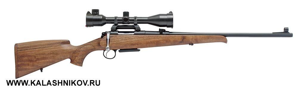 Охотничий карабин «Барс-4-1» калибра .223Rem. сустановленным оптическим прицелом «Пилад» 6×42LC
