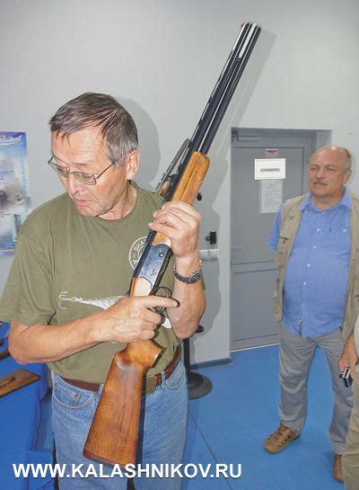 Конструктор-оружейник Михаил Евгеньевич Драгунов рассказал опродвижении известной уже новинки «Ижмеха» двуствольного охотничьего ружья МР-234