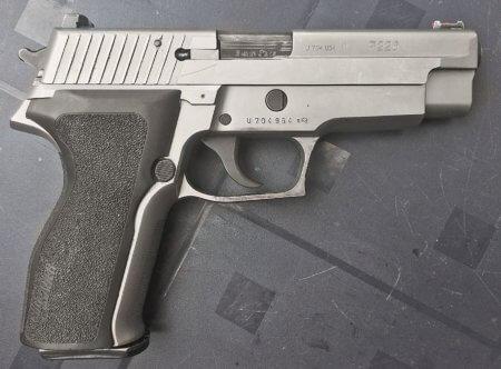 Sig Sauer P226, Андрей Фёдоров