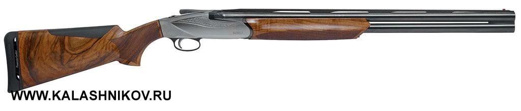 Впетербургский оружейный магазин «Барс» поступили первые двухствольные охотничьи ружья свертикальным расположением стволов Benelli 828U. Калибр ружья 12/76, длина стволов 660 и710мм