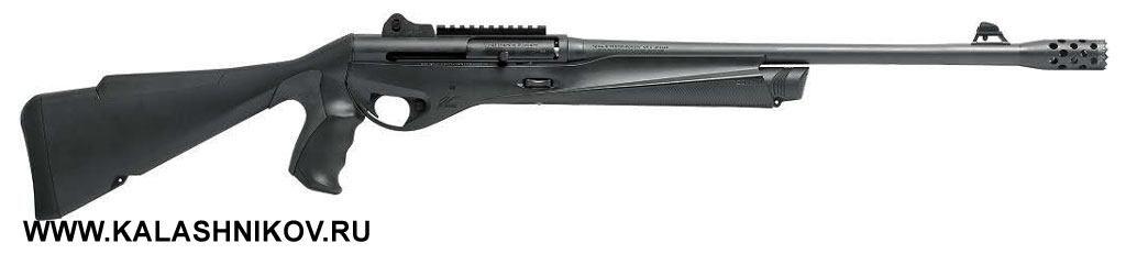 Это грозного вида ружьё называется Benelli Vinci Tactical Pistol Grip. Иэтим всё сказано