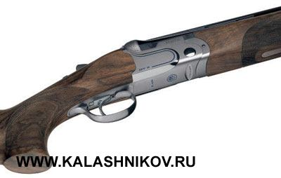 Beretta 692 имеет элегантный дизайн иоснащена ложей изочень качественных сортов древесины.