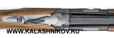 Модель 692 при виде сверху демонстрирует хорошую «фигуру». Оба представленных ружья поставляются, кстати, вблагородном твёрдом кейсе.