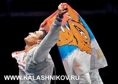 Олимийский чемпион вкомандном ибронзовый призёр вличном первенстве рапирист Тимур Сафин