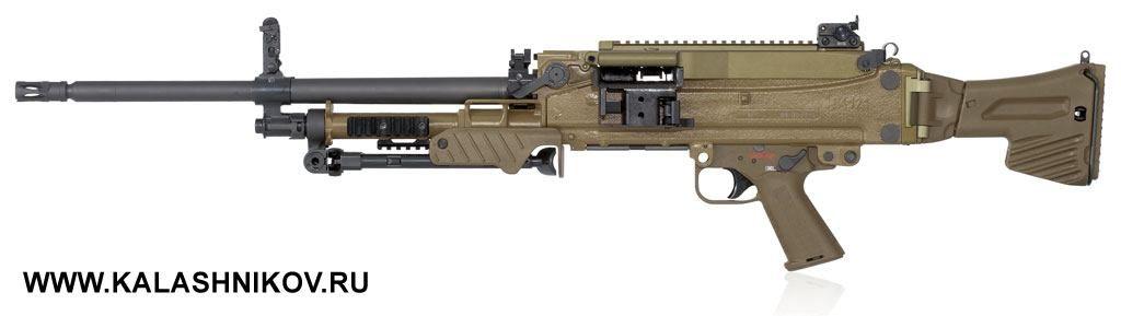 Как считает производитель, MG5 должен стать «лучшим пулемётом мира». В действительности, это пулемёт нового поколения