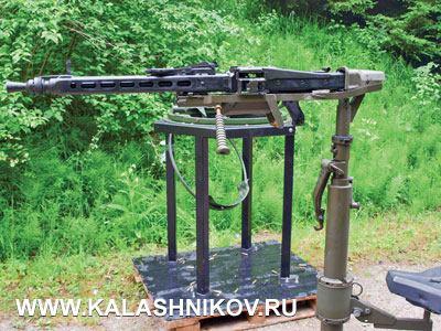 По принципам обращения пулемёт MG4 оптимально стыкуется с MG5 и может также использоваться на тех же станках. (Ошибка автора: на снимке изображен MG3)