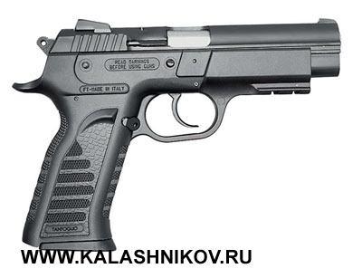 Пистолет Tanfoglio филиппинского производства (Armscor). Фото из журнала «Калашников»