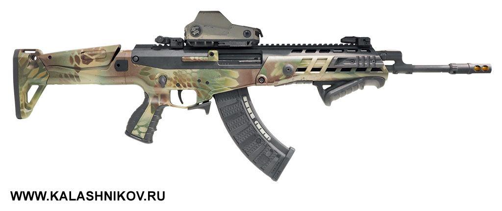 Под вывеской Kalashnikov Israel илоготипом концерна «Калашников» вМоскве нам показали автомат AKAlpha израильской разработки. Нестоит искать внём общие черты сАК— ихнемного, нослоган, под которым новинка представлена внашей стране, забавен— «Великое наследие российских оружейников. АКАльфа 2017. Новая эра»